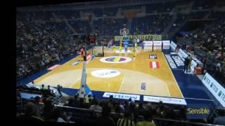 Fenerbahçe 91-57 Best Balıkesir   Boş Salondan Görünümler