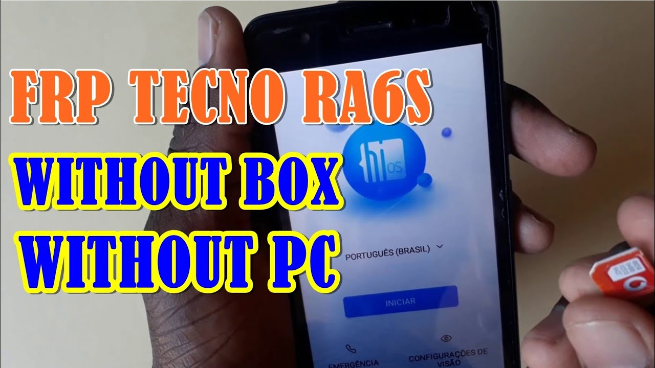 FRP TECNO RA6S WITHOUT BOX, WITHOUT PC #1