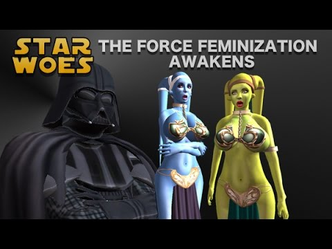 Star Woes - The Force Feminization Awakens (TG TF Animation) from YouTube · Duration:  3 minutes 58 seconds