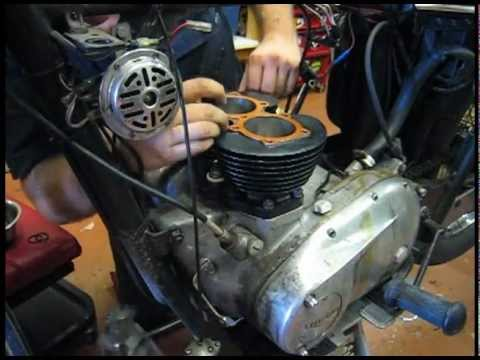 Triumph T120r Engine Rebuild Youtube