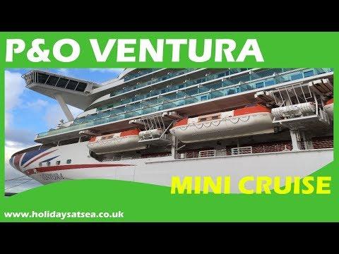 P&O Ventura Cruise Ship Tour and cruise video