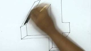 How to Draw 4 in 3D