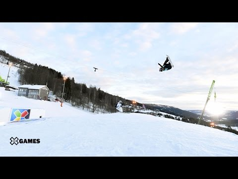 Anna Gasser wins Women's Snowboard Slopestyle gold | X Games Norway 2017
