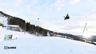 Anna Gasser wins Women's Snowboard Slopestyle gold | X Games Norway 2017
