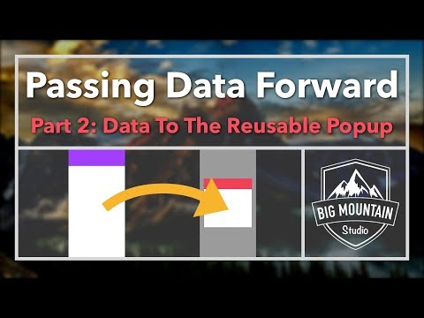 Passing Data to Your Popup View Controller - Part 2 (iOS, Xcode 9, Swift 4) thumbnail