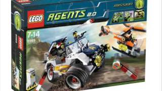 New LEGO set 2009 Agents 2.0