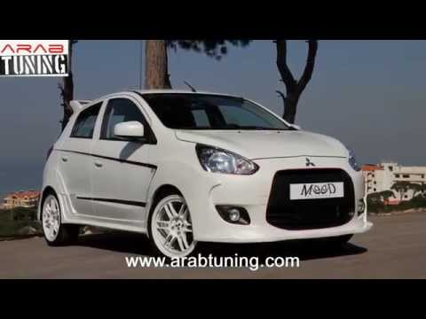 Mitsubishi Mirage Mood Customs - YouTube