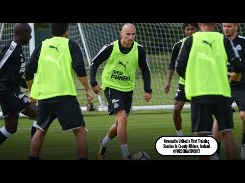 Newcastle United's First Training Session In Ireland #FordeHaveMercy
