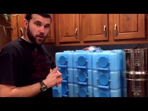 Water Brick stackable water storage containers review sold by PREP SOS