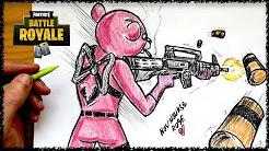 fortnite drawing - youtube