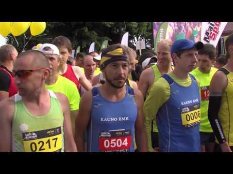 """Tradicinio """"Kauno maratono -2016"""" įrašas"""