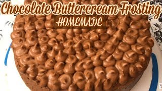 The Easiest Chocolate Buttercream Frosting Recipe for a Cake