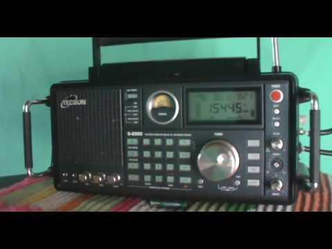 15445 kHz NHK World Radio Japan via Nauen | Germany 15445 kHz NHK ワールド ラジオ日本