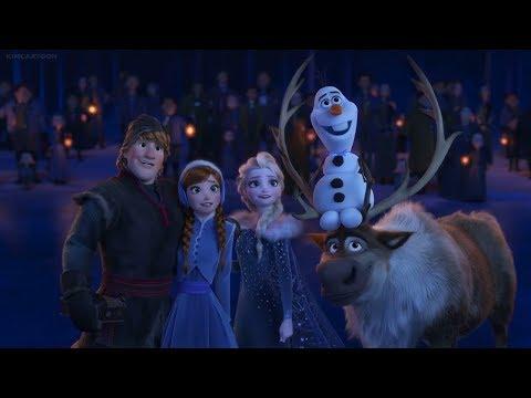 Blind Reaction Olaf's Frozen Adventure