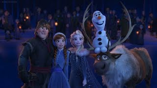 Blind Reaction Olaf's Frozen Adventure