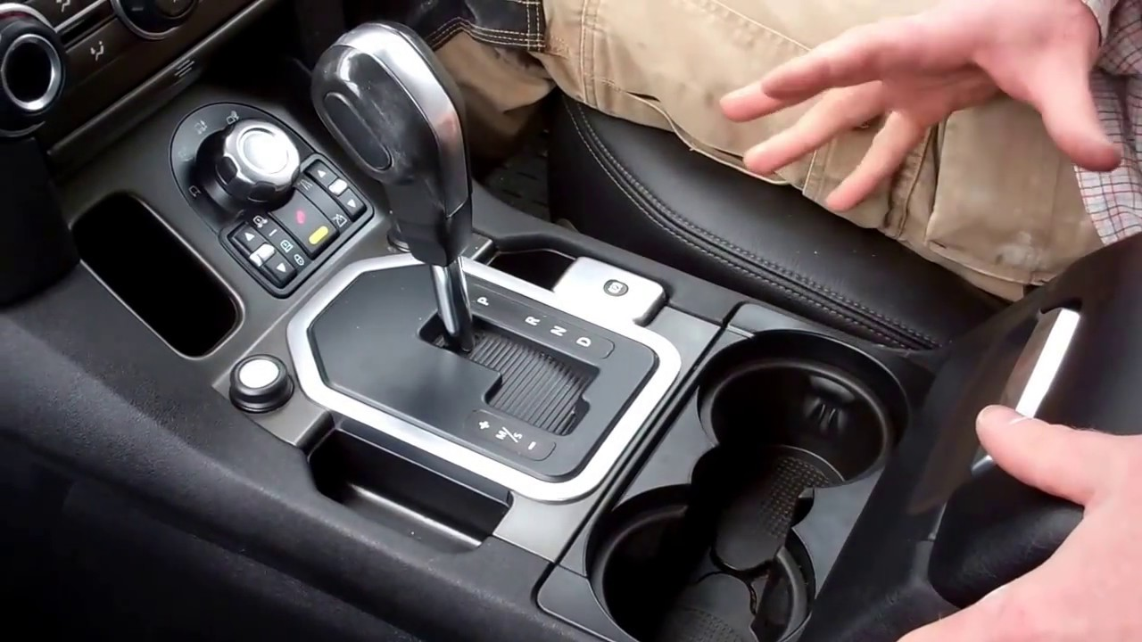 How To Remove Lower Center Console Gear Change On Land Rover Discovery 2 Stereo Wiring Harness 4