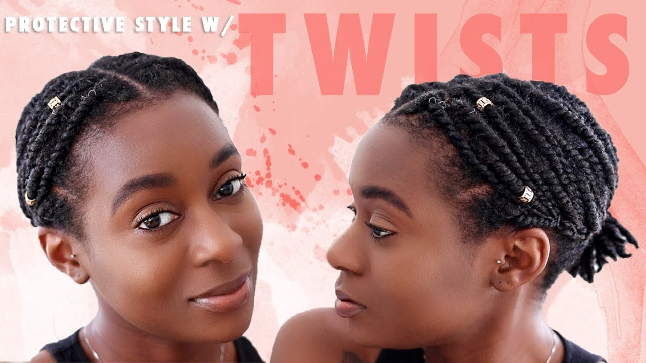 Quick & Easy Protective Style For Short Natural Hair