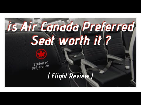 REVIEW | Air Canada | Boeing 777-300ER | Preferred Seating | YUL - CDG
