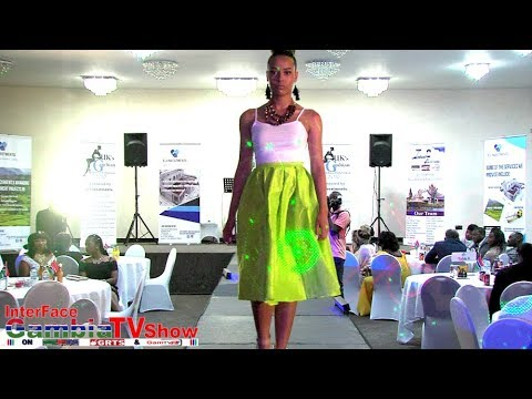 InterFace Gambia TV with Uk's 1st Gambian Fashion and Exhibi