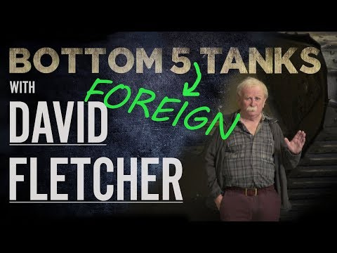 Bottom 5 Foreign Tanks – David Fletcher | The Tank Museum