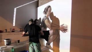 CHTO DELAT - malowanie muralu edukacyjnego