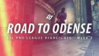 ROAD TO ODENSE | CLG CSGO ESL Pro League Season 6 Week 2 Highlights