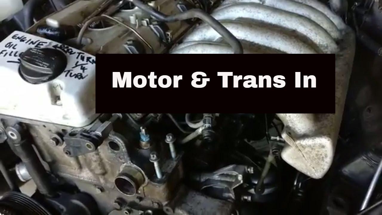 OM606 Swap 8: motor & trans in by NFNP