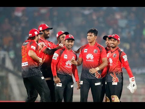 Winning Moments of Comilla Victorians Against Khulna Titans || 20th Match || Edition 6 || BPL 2019