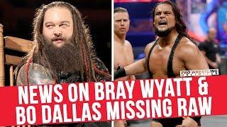 Video News On Bray Wyatt & Bo Dallas Missing RAW Last 2 Weeks download MP3, 3GP, MP4, WEBM, AVI, FLV Oktober 2017