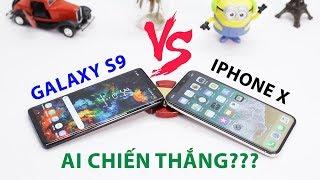 Galaxy S9 và iPhone X: Ai là người thắng cuộc???