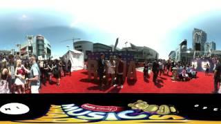 Jacob Whitesides on the RDMA Red Carpet in 360 degrees with IM360   Radio Disney Music Awards 2016