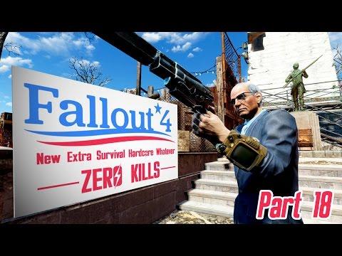 Fallout 4 - Zero Kills (New Survival) - Part 18