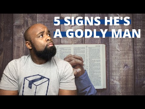 5 SIGNS HE'S A GODLY MAN. from YouTube · Duration:  4 minutes 15 seconds