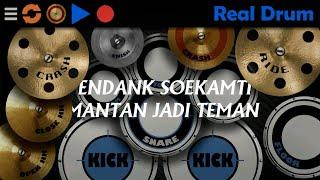 Mantan Jadi Teman - Endank Soekamti | Real Drum Cover