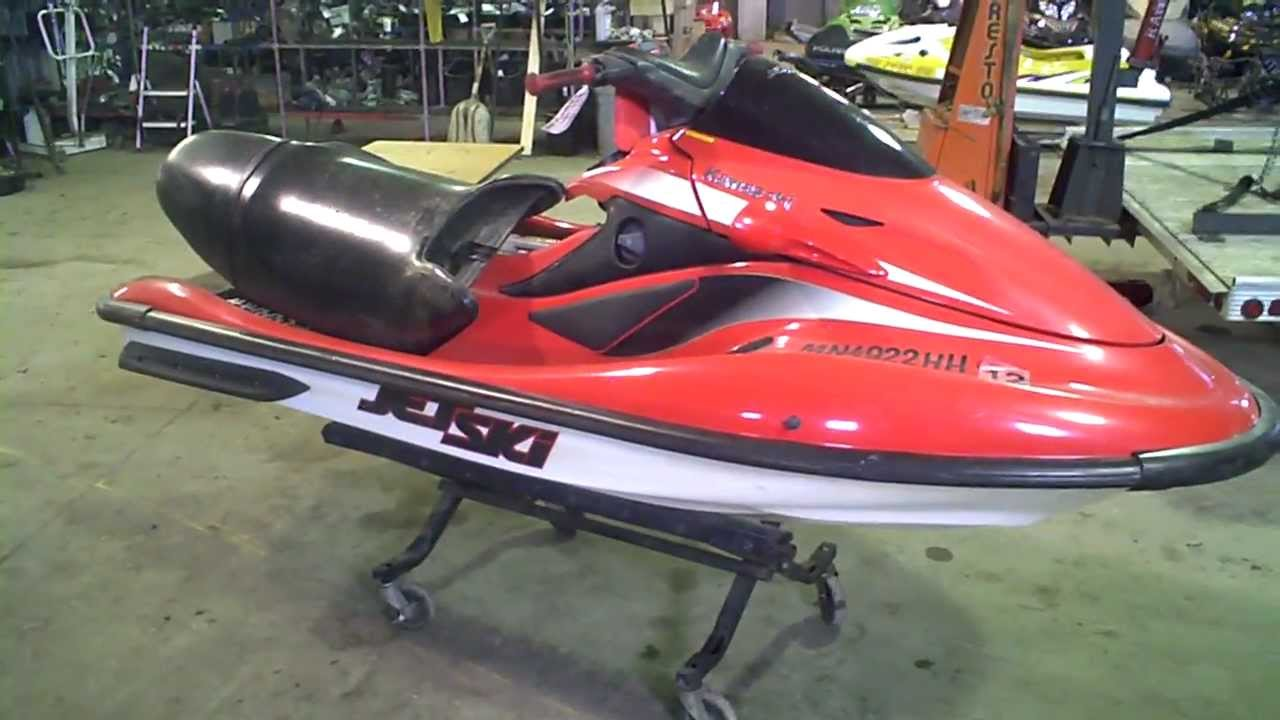 LOT 1373B 2000 Kawasaki ULTRA 150 Jet Ski 131 Hours - YouTube