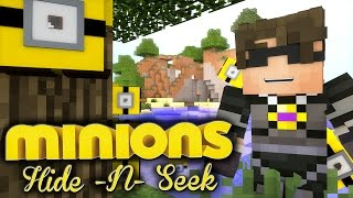 Minecraft MINIONS HIDE N SEEK 4! /w Facecam!