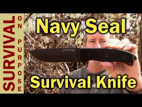 First Edge 5050 Navy Seal Team Survival Knife Review
