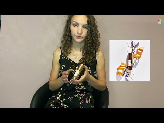 Lisanne geeft uitleg over de Skin Elixer