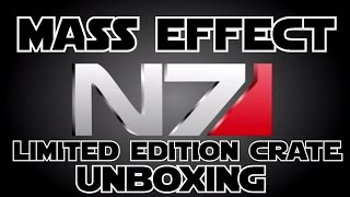 Limited Edition Mass Effect N7 Loot Crate Unboxing!