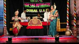 Yakshagana----Smt.Asha Donald Corea &Baby Sharanya V shastri...vob