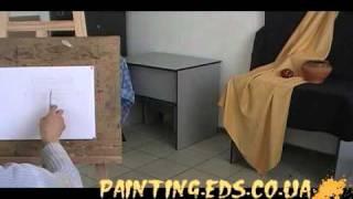 Урок рисования №1 Натюрморт