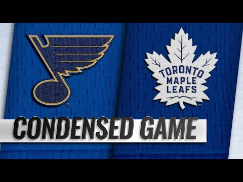 10/20/18 Condensed Game: Blues @ Maple Leafs