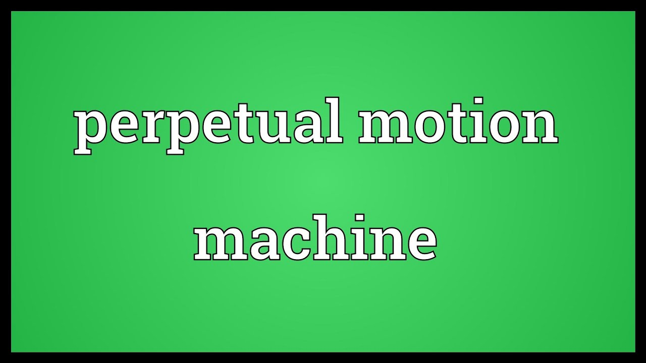 machine meaning