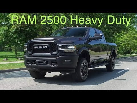 2019 Ram 2500 Review // Heavy Duty and Power Wagon
