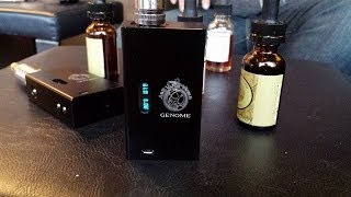 Hana Clone GENOME First Look with 2 Lipo battery bags sold by Atozvaporworld