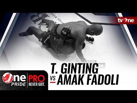 [HD] Theodorus Ginting vs Amak Fadoli - One Pride MMA - Welterweight