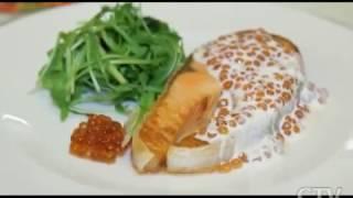 Здоровое питание: готовим сливочный соус с красной икрой с Аленой Высоцкой