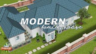 Modern Home Tour The Sims Freeplay Original Design YouTube