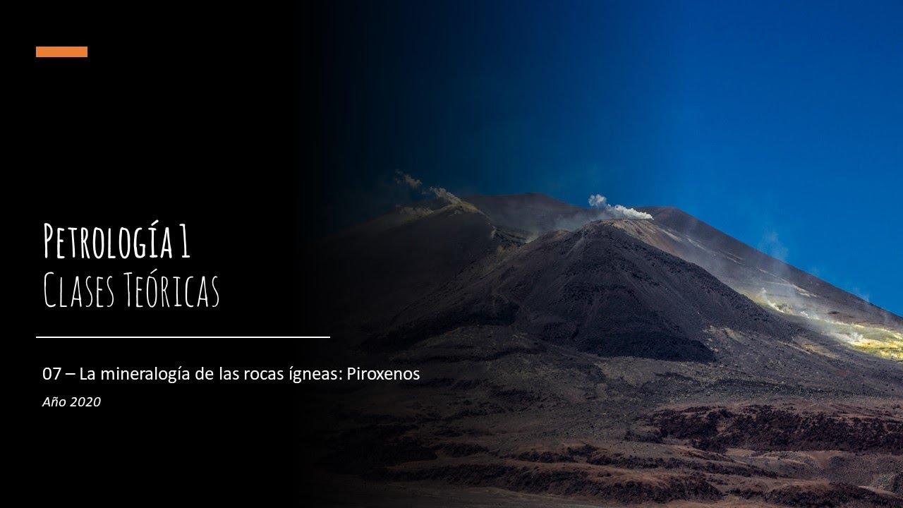 Download Teórico 07 - Mineralogía de las rocas ígneas: Piroxenos