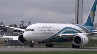 1st Oman Air Boeing 787 Dreamliner Finishing Test Flight @ KPAE Paine Field